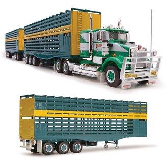 "1:64 Kenworth T800 w/Triple Livestock Trailers ""Bagshaw Cattle Transport"""