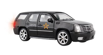 1:32 Presidential Secret Service SUV Pullback w/Lights