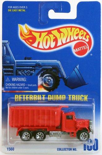 Peterbilt Dump Truck (Red)