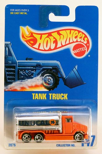 "Tank Truck ""Unocal 76"" (Orange/Chrome)"