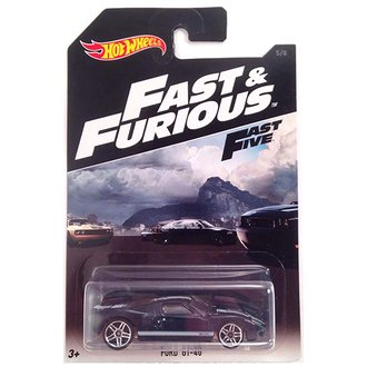 """1:64 Fast & Furious - Ford GT-40 """"Fast Five"""""""