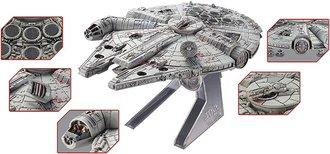 """1:100 Elite - Star Wars """"Episode VI: Return of the Jedi"""" Millennium Falcon"""