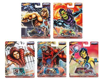 1:64 Hot Wheels 2020 Premium - Pop Culture - Masters of the Universe (Case of 12)