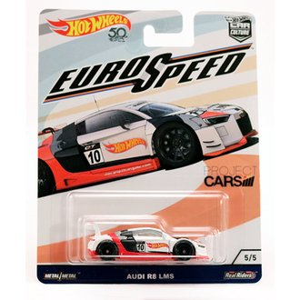 1:64 Euro Speed - Audi R8 LMS (White)