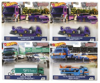 1:64 Car Culture Team Transport 2020 Release G (Case of 4)