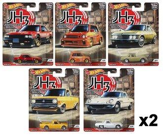 1:64 Hot Wheels 2020 Premium - Car Culture - Japan Historics 3 (Case of 10)