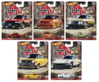 1:64 Hot Wheels 2020 Premium - Car Culture - Japan Historics 3 (Set of 5)