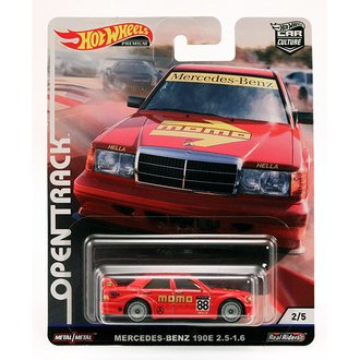 "1:64 Open Track Racing - Mercedes-Benz 190E 2.5-1.6 ""MOMO"" (Red)"