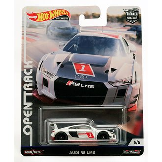 1:64 Open Track Racing - Audi R8 LMS (White)