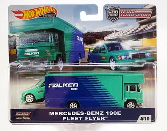 "1:64 Fleet Flyer™ w/Mercedes-Benz 190E ""Falken Tires"""