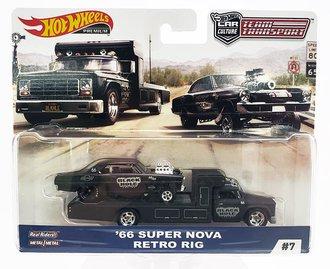 """1:64 Retro Rig w/1966 Super Nova """"Black Hole Racing"""""""