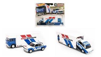 "1:64 Fleet Flyer™ w/1971 Datsun 510 ""BRE Datsun"""