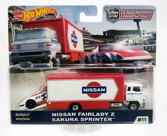 "1:64 Sakura Sprinter™ w/Nissan Fairlady Z ""Nissan"""
