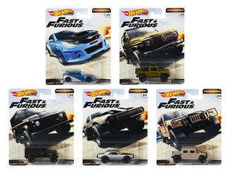 1:64 Hot Wheels 2019 Premium - Furious Off-Road - Fast & Furious (Case of 10)