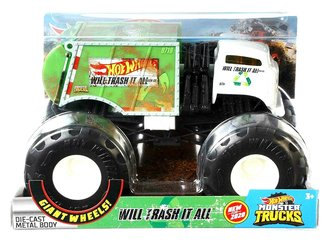 1:24 Monster Truck - Will Trash It All (White/Green)