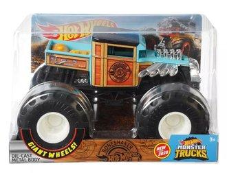 1:24 Monster Truck - Bone Shaker (Light Blue/Wood Grain)