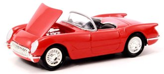 1:64 1953 Corvette Convertible (Red)