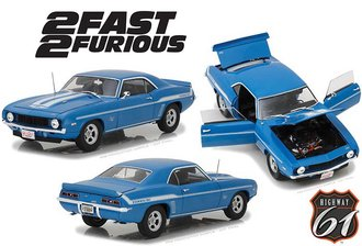 "1:18 Fast & Furious - 1969 Chevrolet Yenko Camaro ""2 Fast 2 Furious (2003)"""