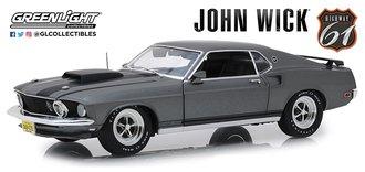 1:18 John Wick (2014) - 1969 Ford Mustang BOSS 429