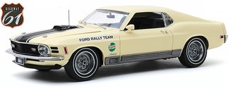 "1:18 1970 Ford Mustang Mach 1 ""Competition Limited Team"" SCCA Manufacturer's Road Rally Champion"