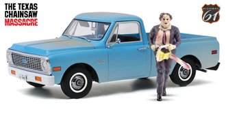 1:18 The Texas Chain Saw Massacre (1974) - 1971 Chevrolet C-10 w/Leatherface Figure