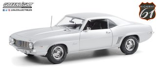 "1:18 Barrett-Jackson - 1969 Chevrolet Camaro ZL1 Coupe ""Scottsdale 2012, Lot #5010"" (Silver)"
