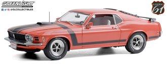 "1:18 Barrett-Jackson - 1970 Mustang BOSS 302 Fastback ""Scottsdale 2019 Lot #790"" (Calypso Coral)"