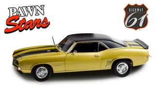 1:18 Pawn Stars (2009-Present TV Series) - 1969 Chevrolet Camaro Z/28