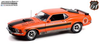 """1:18 1970 Ford Mustang Mach 1 """"Texas International Speedway Official Pace Car"""""""