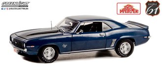 1:18 Home Improvement (1991-99 TV Series) - 1969 Chevrolet Camaro SS (Blue w/Black Stripes)