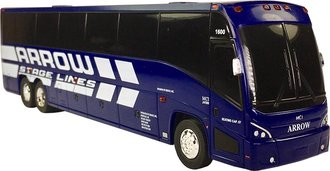 "1:50 MCI J4500 Bus ""Arrow Stage Lines"" (Bank)"
