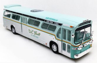 "1:43 GM TDH-5301 New Look Transit Bus ""DC Transit - 60th Anniversary of the New Look Version"""