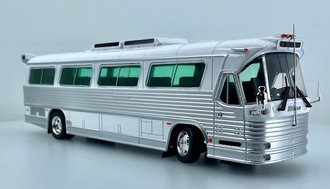 1:43 Dina Olimpico Bus (Blank White)