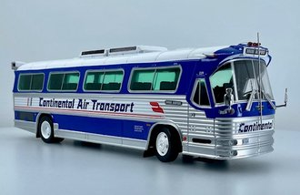 "1:43 1980 Flxible FlxLiner Coach ""Continental Air Transport"""