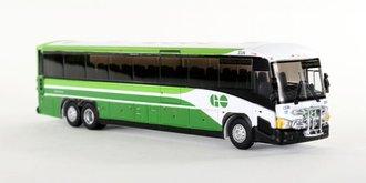 "1:87 MCI D4505 Motorcoach ""GoTransit"" w/Bike Rack"