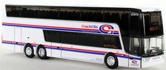 """1:87 Van Hool TDX Double Decker Bus """"Coach USA"""""""