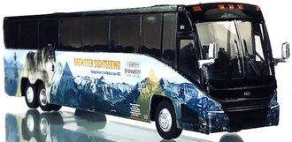 "1:87 MCI J4500 Bus ""Brewster"""