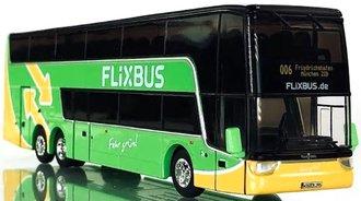 """1:87 Van Hool TDX Double Decker Bus """"FLiXBUS"""""""