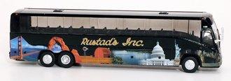 "1:87 MCI J4500 Motorcoach ""Rustad Tours"""