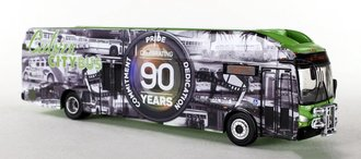 "1:87 New Flyer xcelsior XN40 Transit Bus ""Culver City 90th Anniversary"""