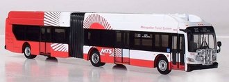 "1:87 New Flyer XN60 Xcelsior Articulated Bus ""San Diego MTA"""