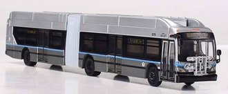 "1:87 New Flyer XN60 Xcelsior Articulated Bus ""Boston Silver Line"""