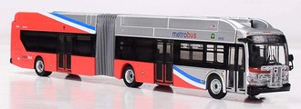 "1:87 New Flyer XN60 Xcelsior Articulated Bus ""Washington MWMTA"""