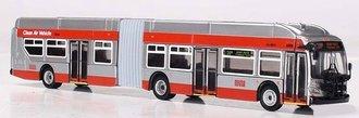"1:87 New Flyer XN60 Xcelsior Articulated Bus ""MUNI San Francisco"""