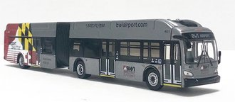 "1:87 New Flyer XN60 Xcelsior Articulated Bus ""Baltimore/Washington BWI Airport"""