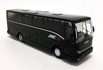 "1:87 Van Hool CX-35 Coach ""ABC Companies"" (Black) (Van Hool Corporate USA)"