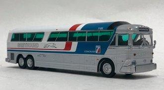 """1:87 MCI MC-7 Challenger Motorcoach """"Greyhound 'Pepsi' Scheme - Washington"""""""