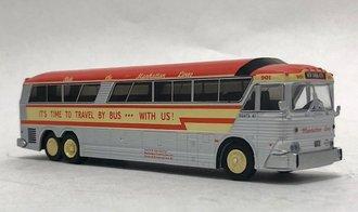 "1:87 MCI MC-7 Challenger Motorcoach ""Manhattan Lines - New York City"""