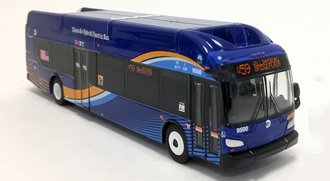 "1:87 New Flyer xcelsior XN40 Transit Bus ""New York City - NYC MTA"""