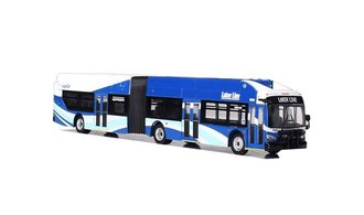 "1:87 New Flyer xcelsior XN60 Articulated Bus ""Grand Rapids - Laker Line"""